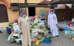 إغلاق 24 منشأة ومصادرة أكثر من ألف كيلو من اللحوم والخضروات والفواكه بخميس مشيط