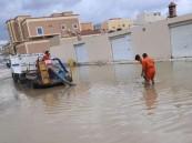 سحب وتصريف مايقارب 10310 طن من مياه الأمطار بخميس مشيط