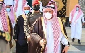 أمير القصيم يفتتح جامع الشيخ صالح العبيلان في بريدة