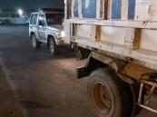 المرور يضبط قائد مركبة تابعة لأمانة جدة عليها عدة مخالفات مرورية