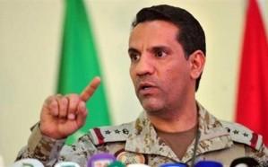 """""""التحالف"""" يعلن تفاصيل اعتراض طائرة دون طيار مفخخة بالأجواء اليمنية أطلقتها المليشيا الحوثية تجاه المملكة"""