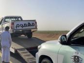 ضبط قائد مركبة مارس التفحيط على «طريق المزارع» في طبرجل