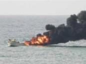 إحباط هجوم عدائي وشيك بزورق مفخخ للحوثيين بجنوب البحر الأحمر