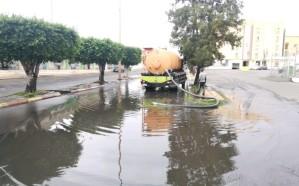 تصريف أكثرمن 12طن من مياه الأمطار بخميس مشيط خلال شهر واحد