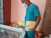 إغلاق 66 منشأة وإتلاف 6184 كيلو من المواد الغذائية الغير صالحة للاستهلاك الآدمي في خميس مشيط