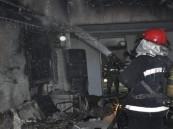 إصابة 24 شخص في حريق مصنع للمواد الغذائية في إيران