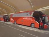 الحج: 1700 حافلة لخدمة ضيوف الرحمن مراقبة بنظام  GPS