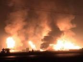مصرع  3 إيرانيين في انفجار داخل محطة أنابيب نفط