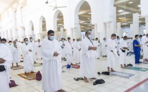 نجاح الخطة الاحترازية والوقائية في مسجد نمرة يوم عرفة