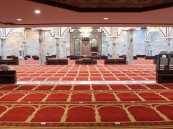 إعادة فتح 10 مساجد بعد تعقيمها في 5 مناطق
