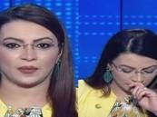 بالفيديو.. مذيعة تونسية تصاب بوعكة صحية على الهواء بسبب كورونا