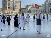 شاهد.. اللحظات الأولى لدخول حجاج بيت الله الحرم المكي وأداء طواف القدوم