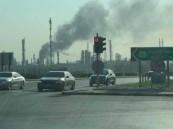 اندلاع حريق في مصفاة بترول بميناء الأحمدي بالكويت