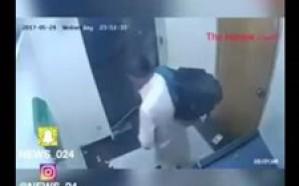 شاهد .. باكستاني يسرق عامل في صراف آلي بطريقة مروعة