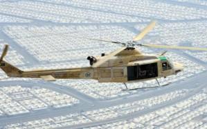 القوات الجوية تكثّف طلعاتها للاطمئنان على ضيوف الرحمن