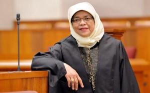 أول امرأة من الأقلية المسلمة رئيسة في سنغافورة