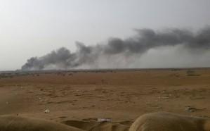 قصف التحالف وضربات جيش الشرعية يحبطان تسلل الحوثي إلى ميدي