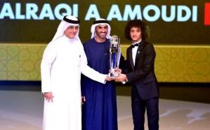 تتويج الإماراتي عمر عبد الرحمن بجائزة أفضل لاعب آسيوي لعام 2016