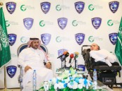 نواف بن سعد يتبرع بدخل مباراة الشباب لجمعية إرادة