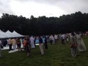 بالصور.. المسلمون يؤدون صلاة العيد في أمريكا