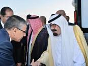 بالصور .. وصول خادم الحرمين الشريفين إلى الدار البيضاء