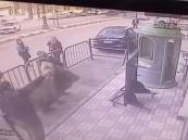 شاهد كيف أنقذ شرطي مصري طفلاً من الموت ؟