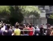 """شاهد.. شعار """"الموت لمبدأ ولاية الفقيه"""" يصدح في عدد من المدن الإيرانية"""