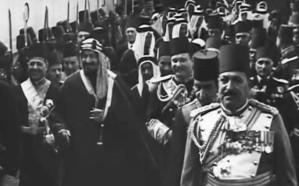 فيديو نادر لزيارة الملك المؤسس الأولى إلى مصر.. وهكذا استقبله المصريين
