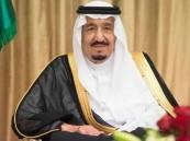 الملك يستقبل الأمراء والمفتي والعلماء وجمعاً من المواطنين
