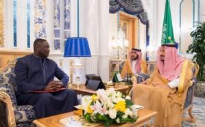 خادم الحرمين يتسلم رسالة خطية من رئيس جمهورية جامبيا