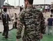 شاهد.. وصول دفعة جديدة من جثث القتلى الإيرانيين في سوريا إلى مدينة عبادان