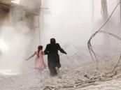 نظام الأسد يخرق الهدنة بقصفه الجوي وبالبراميل المتفجرة على الغوطة الشرقية