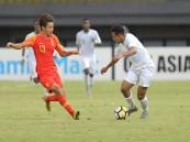 """بالصور.. """"الأخضر"""" يعبر الصين ويتصدر مجموعته بكأس آسيا تحت 18 عامًا"""