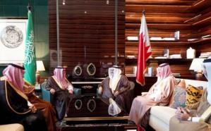 الجبير يلتقي وزير الخارجية البحريني