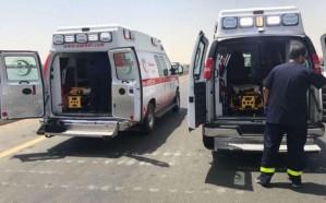 الهلال الأحمر يكشف حصيلة ضحايا انقلاب سيارة في مكة