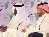 ماجد عبدالله في ملتقى مغردون: أبارك للهلال الدوري.. والجابر يرد: ماجد قدوتي