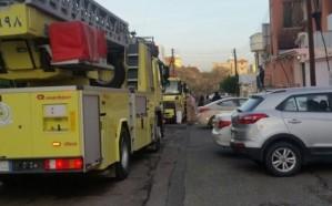 بالصور.. شاحن هاتف يتسبب بحريق منزل في خميس مشيط
