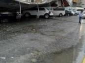 بالصور .. عاصفة وامطار على أبو ظبي