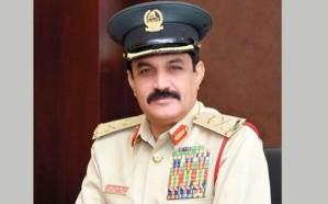 """الفريق """"المزينة"""" قائد عام شرطة دبي إلى رحمة الله"""