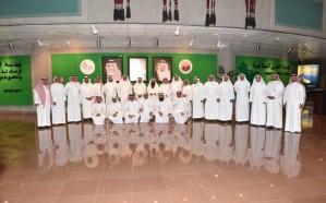 وفد من الهيئة السعودية للمواصفات والمقاييس والجودةيزور الهيئة الملكية بالجبيل