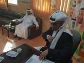 تفعيل اسبوع المرور الخليجي بمدرسة قيا الأولى الابتدائية
