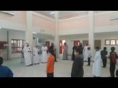 ابتدائية الإمام محمد بن سعود بضاحية قارا بالجوف تنتقل لمبناها الجديد