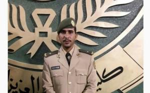 فهد الغامدي .. إلى رتبة ملازم بالقوات البرية