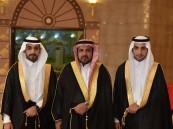 الشيخ سعيد آل وداعة يحتفل بزفاف عادل وعبدالله