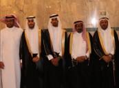 خضر المرزوقي يحتفل بزفاف محمد وإبراهيم
