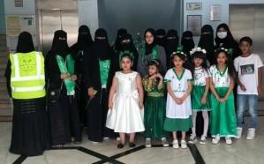 فرحتهم غايتنا التطوعي يقيم احتفالا بـاليوم الوطني88 بمدينة الملك سعود
