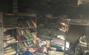 نشوب حريق بجمعية تحفيظ القرآن في بارق.. والدفاع المدني يسيطر