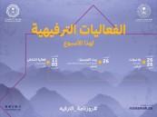 روزنامة الترفيه تواصل طرح الفعاليات في مختلف مناطق المملكة