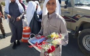 إطلاق برنامج السلامة المرورية بمدرسة عبدالله بن عمر الابتدائية في محافظة ميسان