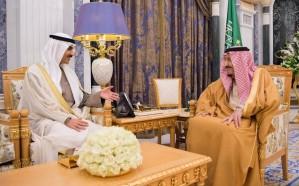 خادم الحرمين الشريفين يستقبل سفير الكويت بمناسبة انتهاء فترة عمله سفيراً لبلاده لدى المملكة